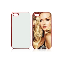 2D Sublimation Hard Plastic Phone Case for iPhone 5/5S