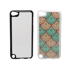 For iPod Touch Blank 2D Sublimation Hard Plastic Phone Case