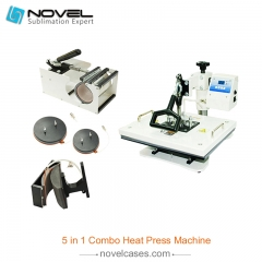 Digital Combo Heat Press Machine (5 in 1)