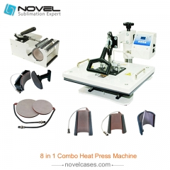 Digital Combo Heat Press Machine (8 in 1)