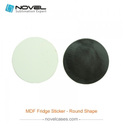 Sublimation MDF Fridge Sticker - Round