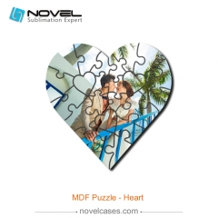 Sublimation MDF Puzzle - Heart