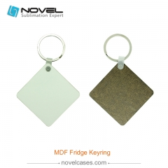Sublimation MDF Keytag - Square Shape