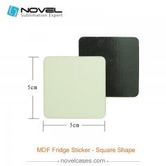 Sublimation MDF Fridge Sticker - Square