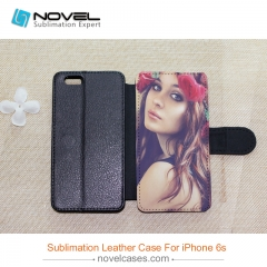 For iPhone 6/6S Sublimation Blank Design PU Leather Mobile Phone Case