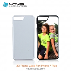 For iPhone 7/8 Plus DIY 2D Plastic Sublimation Phone Case Cover