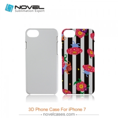 For iPhone 7 DIY 3D Sublimation Plastic Mobile Phone Cover