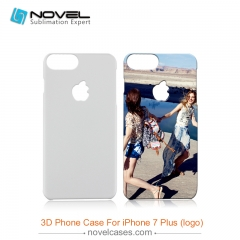 For iPhone 7/8 Plus (With Apple Hole)3D Sublimation Blank Phone Cover