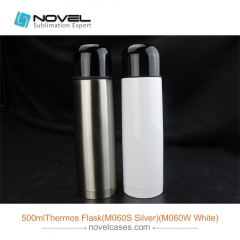 500ml Stainless Steel Thermos Bottle Sublimation Water Bottle
