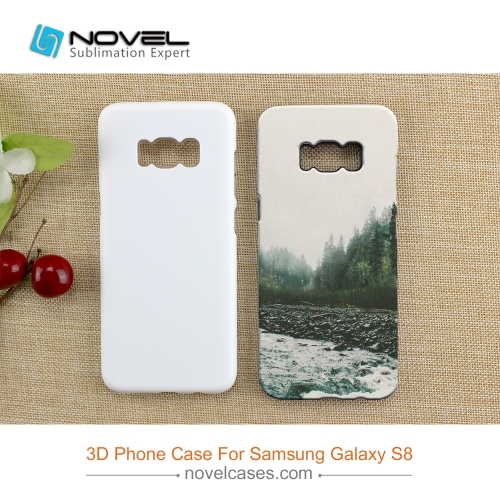 New Arrival 3D Blank Sublimation Heavy Duty 2in1 Cover Case For Galaxy S8