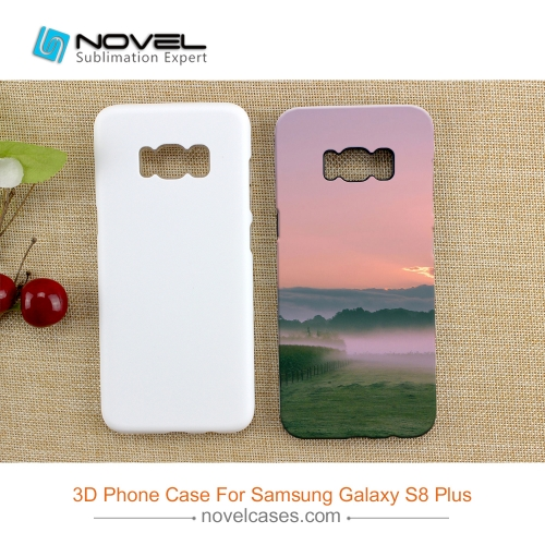 For Galaxy S8 Plus Sublimation 3D 2in1 Phone Cover