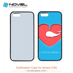 For iPhone 5/5S 2D Sublimation PC Phone Case