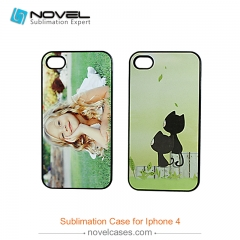 For iPhone 4/4S Custom Blank 2D Sublimation Hard Plastic Case