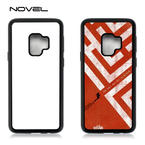 For Galaxy S9 New Sublimation Blank 2D 2IN1 Phone Case Heavy Duty Back Cover