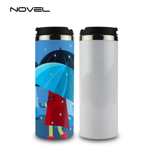 450ml Stainless Steel Sublimation Thermos Bottle Thermal Tumbler