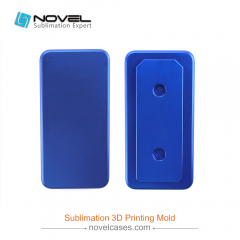 For iPhone XR/XS/XS Max Sublimation Printing Jig Mould For Blank Regular 3D Phone Case
