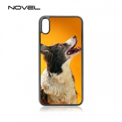 For iPhone 4/5/6/6+/7/8/8+/XS/XR/XS Max Popular Sublimation 2D Blank Plastic Cell Phone Case