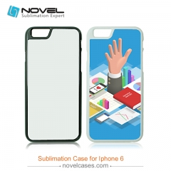 For iPhone 6 Blank 2D Sublimation Hard Plastic Case