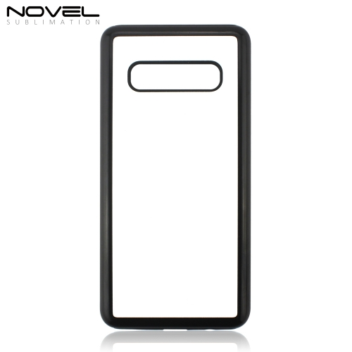 Custom Sublimation Blank 2D Dual 2IN1 Cell Phone Case For Galaxy S10 Plus