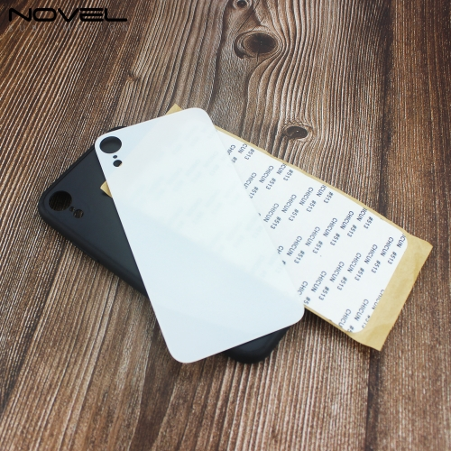New Sublimation Blank TPU Glass Phone Case For iPhone XR