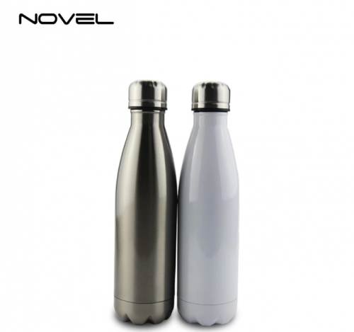 500ml Stainless Steel Sublimation Coke Water Bottle