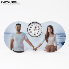 MDF Clock Photo Panel Sublimation Blank Phont Frame