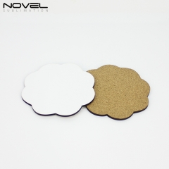 3mm MDF Coaster Sublimation Mug Pad-Flower