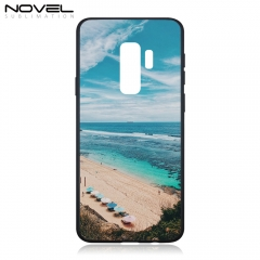 Tempered Glass TPU Sublimation Blank Phone Case For Galaxy S9 Plus