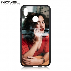 Tempered Glass TPU Sublimation Case For Huawei P20 Lite