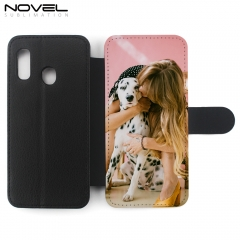 DIY Premium Sublimation PU Flip Phone Cover For Galaxy A20E