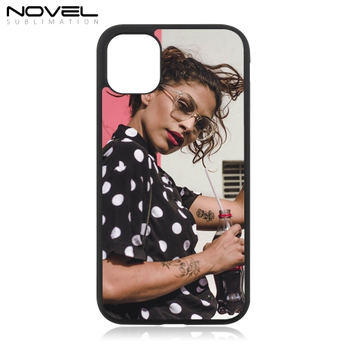 Custom Blank 2D Rubber Phone Case Cover For New iPhone 11 6.1""