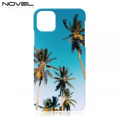 "New Arrival For iPhone 11 Pro 5.8"" Plastic 3D Sublimation Case"