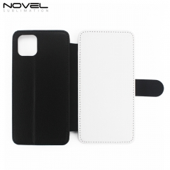 "For iPhone 11 6.1"" DIY Sublimation PU Flip Phone Wallet Case"