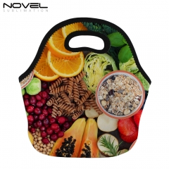 DIY Sublimation Lunch Bag White Neoprene Lunch Pack