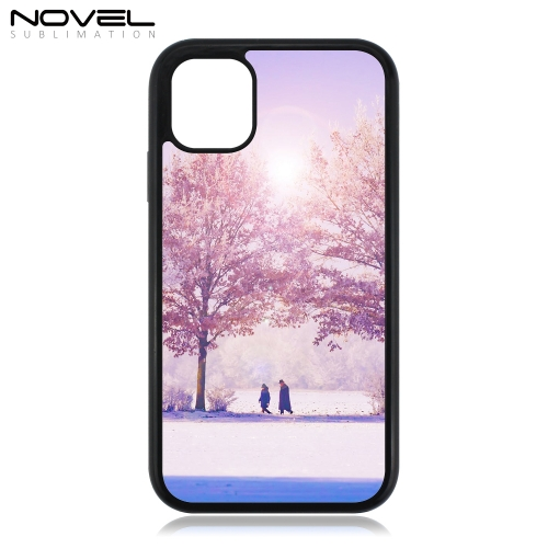 New!!! Sublimation 2D 2IN1 Case Heavy Duty Blank Case For iPhone 11