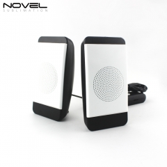 Sublimation Blank Wire 3D Mini Speaker USB Speaker