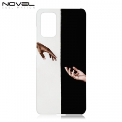 DYE Blank Sublimation 3D Plastic Phone Case For Galaxy S20 Plus