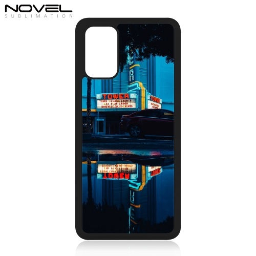 Custom 2D Sublimation Blank Plastic Case For Galaxy S20 Plus