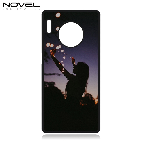 Popular DIY Sublimation Blank 2D Plastic Phone Housing For Huawei Mate 30 Pro