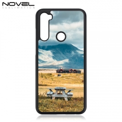 Sublimation Blank 2D Plastic Phone Cover For Redmi Note 8T