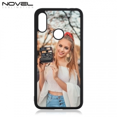 DIY Blank Sublimation 2D Rubber TPU Phone Case For Redmi Note 7