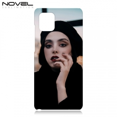 Blank Sublimation 3D Hard Plastic Phone Case For Galaxy Note 10 Lite/ A81