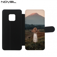 Custom Blank PU Flip Phone Case For Huawei Mate 20 Pro