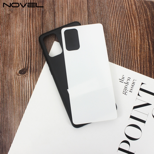 For Galaxy S20 Plus DIY 2D TPU Case Sublimation Tempered Glass Plate