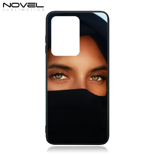 Sublimation Blank Glass TPU Phone Case For Galaxy S20 Ultra