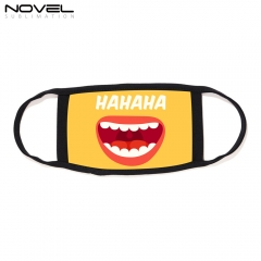 Personalized Sublimation Dust Anti Mask With Black Rim