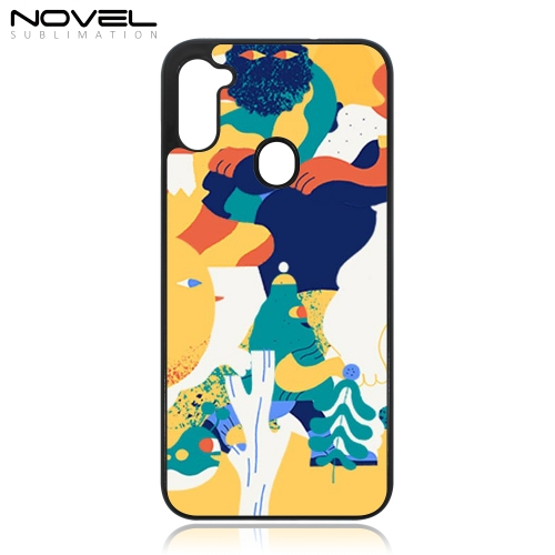 Plastic 2D Sublimation Phone Case for Galaxy A11