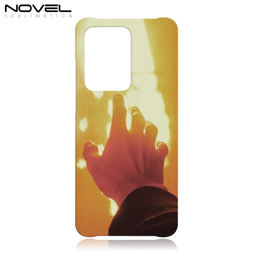 High Quality 3D Sublimation Film Plastic Case for Galaxy S20 Ultra