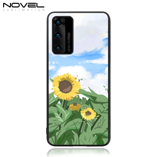 Custom Sublimation Blank TPU 2D Rubber Case Cover For Huawei P40