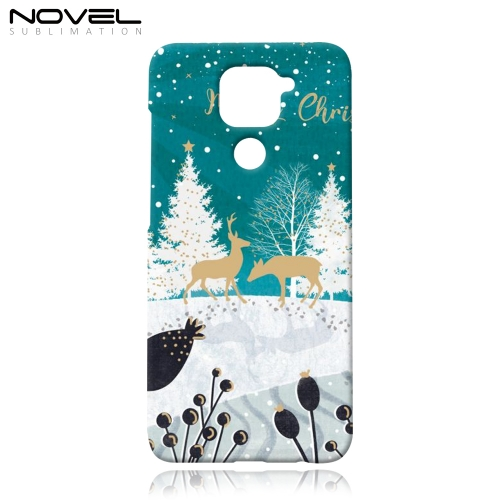 3D Phone Case for Redmi Note 9 Sublimation Blank Mobile Phone Back Cover
